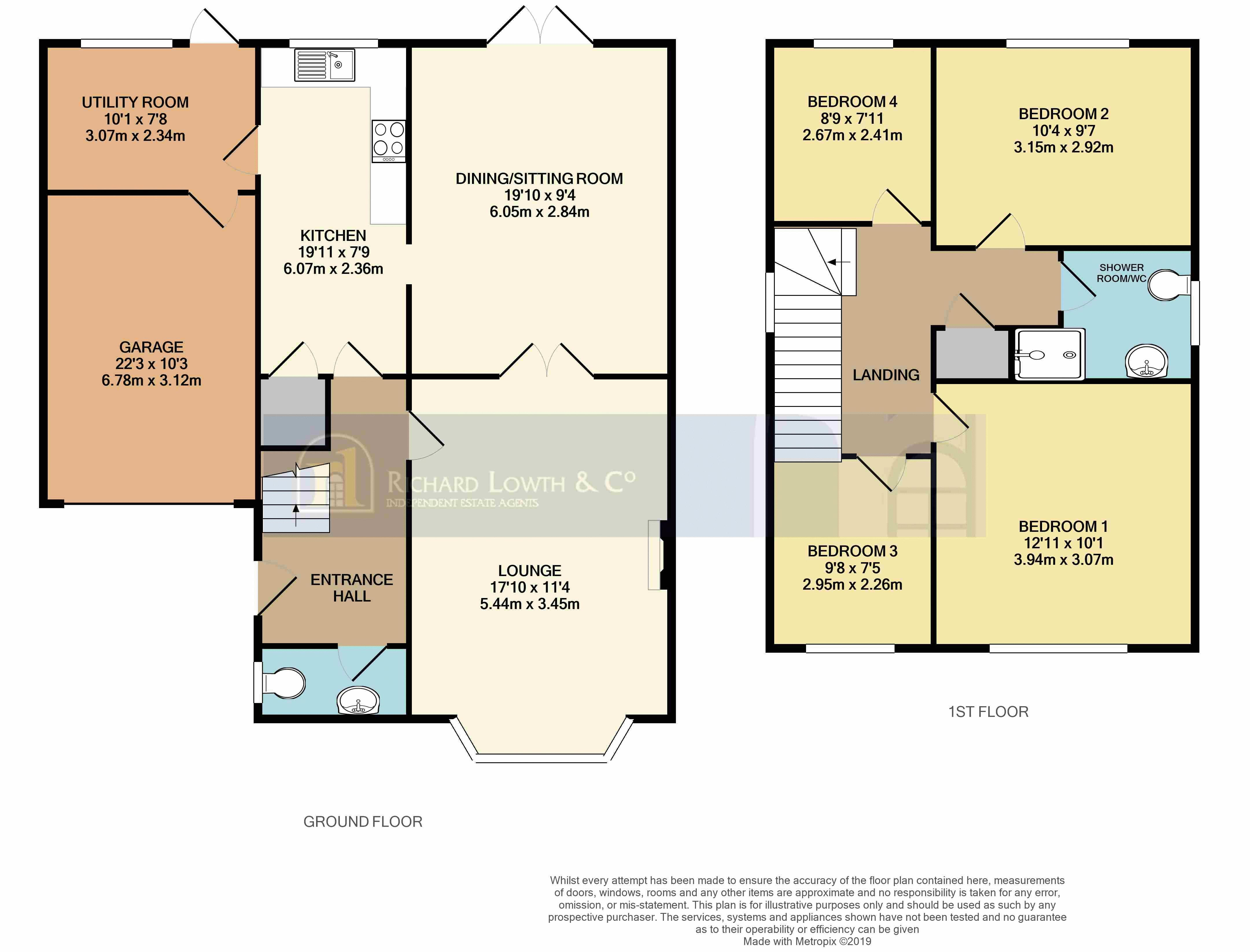Floorplans For POYNTON ( DUNDRENNAN CLOSE )