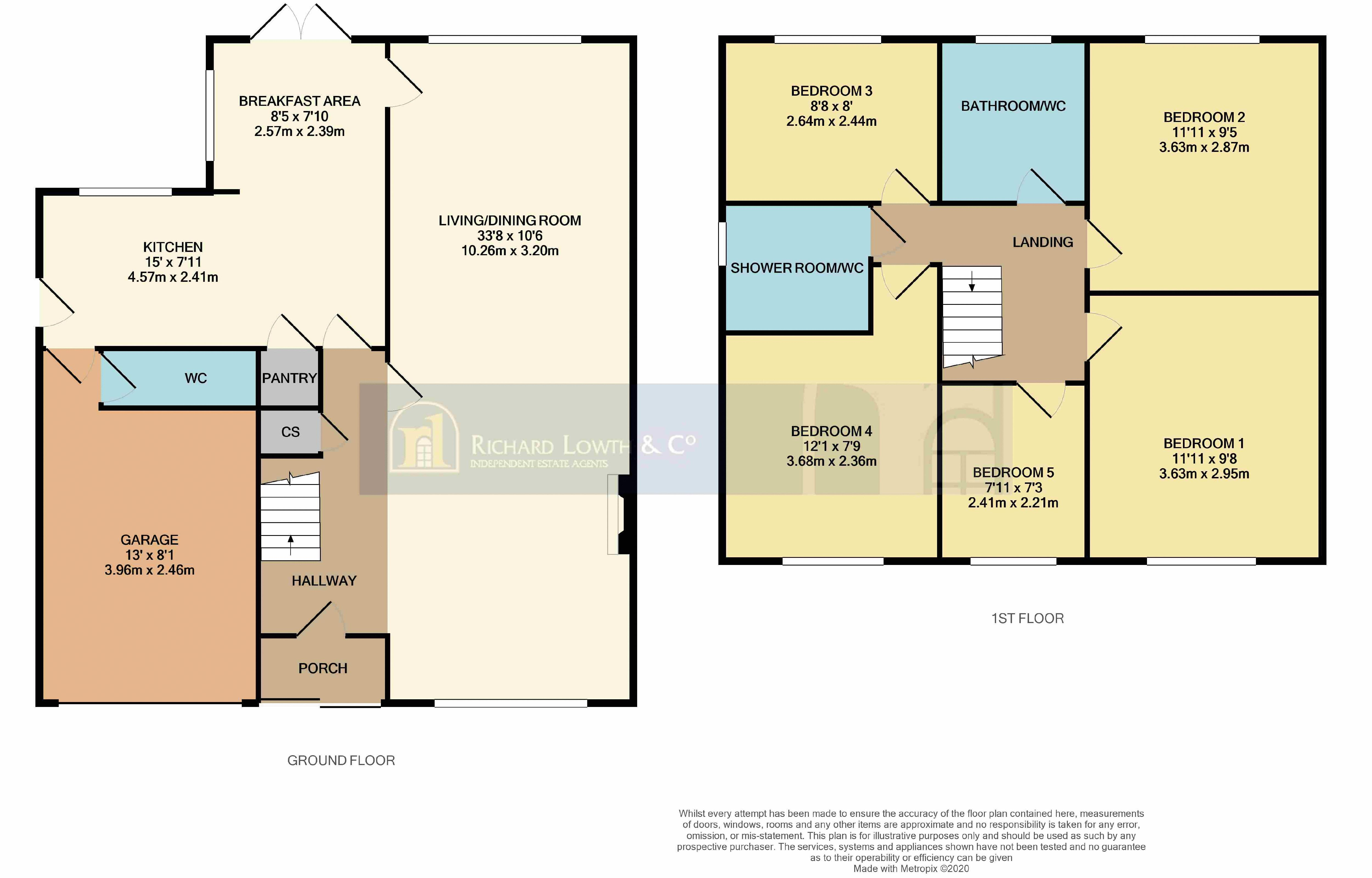 Floorplans For DISLEY (CHANTRY ROAD)