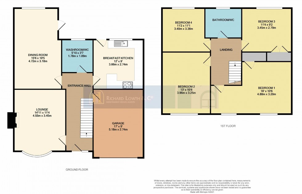 Floorplan for POYNTON ( KETTLESHULME WAY )
