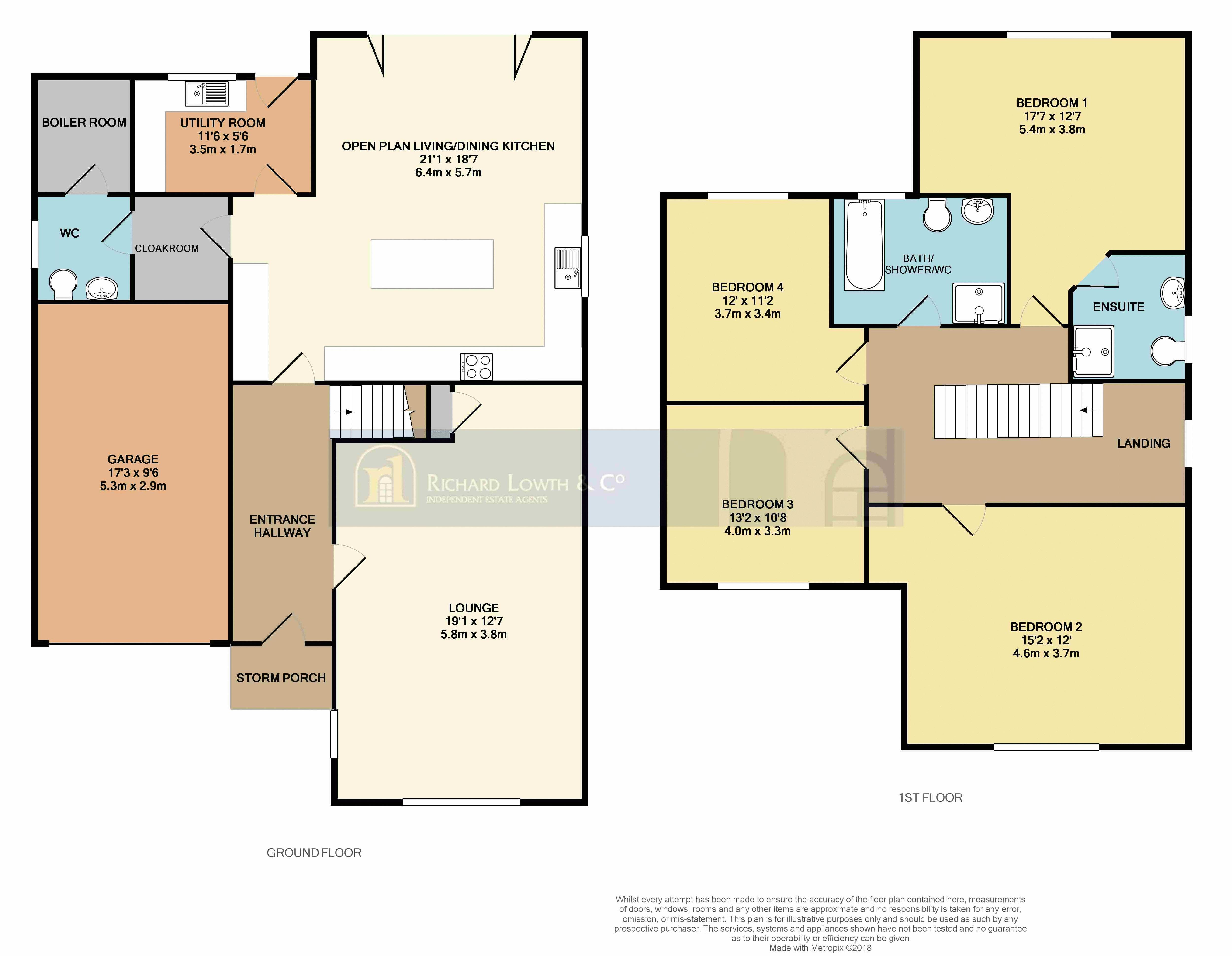 Floorplans For POYNTON (CHESTER ROAD)