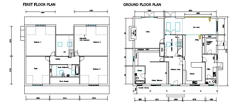 Floorplans For ADLINGTON ( BROOKLEDGE LANE )