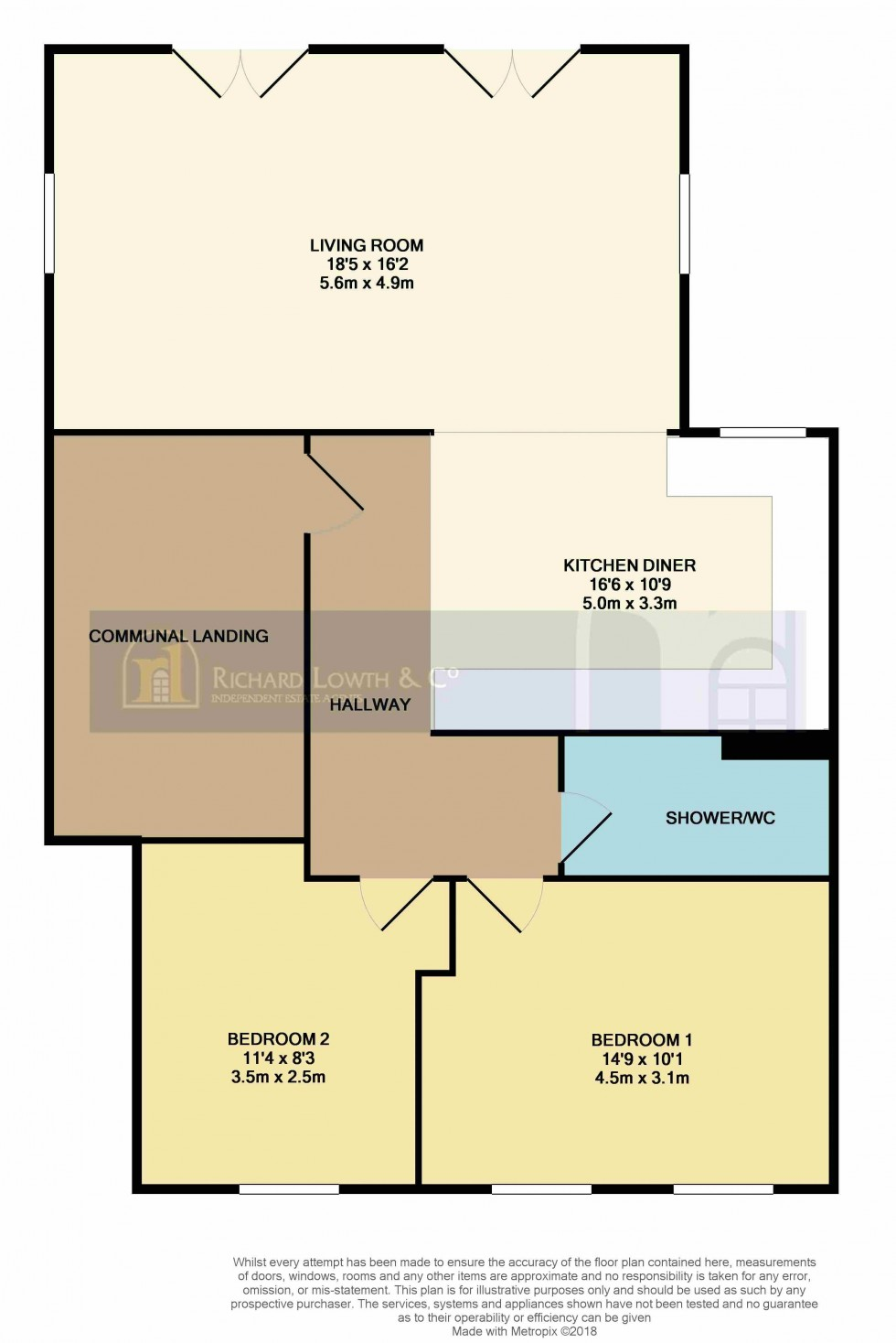 Floorplan for POYNTON ( ABACUS HOUSE, LONDON ROAD SOUTH )