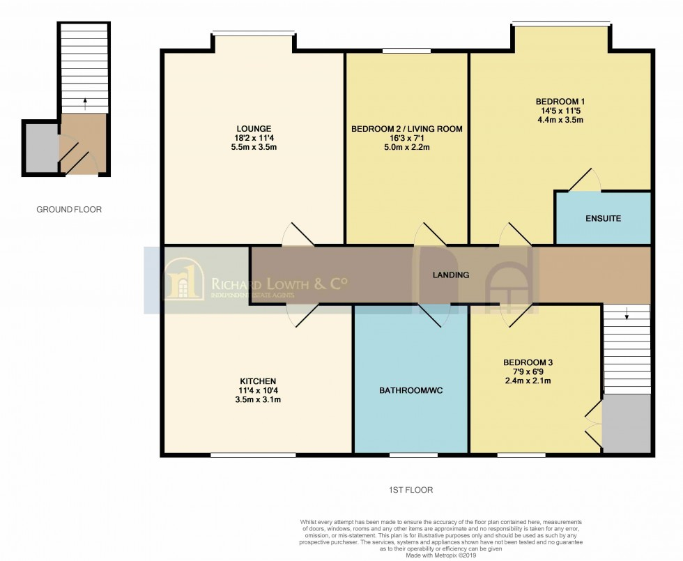 Floorplan for POYNTON (WORTH COURT)